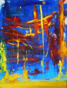 Desert rain by Liliana Stafford