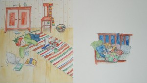 Heipparallaa artwork 2 by Liliana Stafford