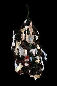Tissue paper and wire hanging-Memories