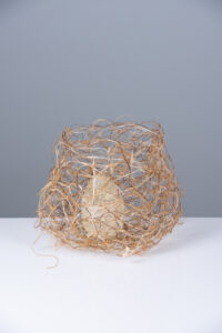 wire and fibre basket