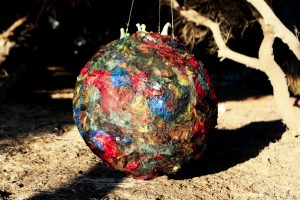 earth ball at Bather's Beach
