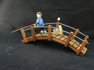 Fishing small scupture
